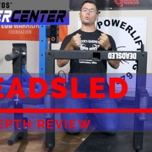MB Power Center DeadSled | Versatile Strongman Equipment | Strongman Gym Equipment Review