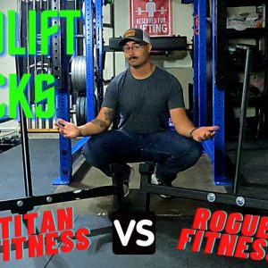 Rogue vs. Titan Fitness | Deadlift Jack Comparison | Strongman Gym Equipment Review