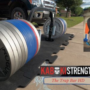 Kabuki Strength | The Trap Bar HD | Assembly and Review | Strongman Garage Gym Equipment Review