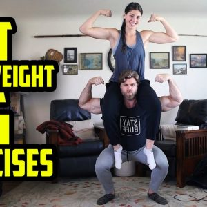 18 BEST BODYWEIGHT LEG EXERCISES!