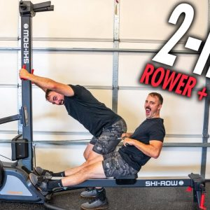2-in-1 SKI-ROWER Machine Review: Concept 2 Killer?