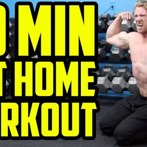 20 Min HIIT HOME WORKOUT | No Equipment / Bodyweight Only