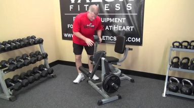 Valor Fitness CC-4 Leg Extension and Leg Curl Machine for training quads and hamstrings