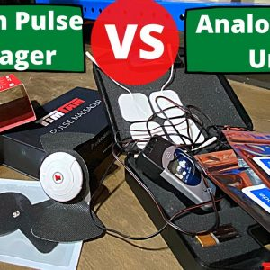 TimTam Pulse Massager vs. Analog TENS | Are Wireless Massagers Worth the $$? | Comparison Review