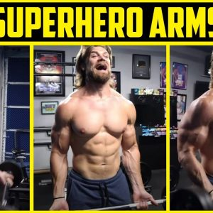 ATOMIC ARMS WORKOUT | Superhero Plan Stage 3 Day 4