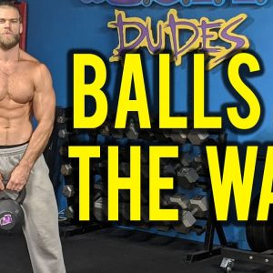 BALLS TO THE WALL WORKOUT | Superhero Plan Stage 4 Day 4