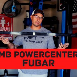 MB Power Center FUbar | BEST SPECIALTY BARBELL FOR DEADLIFT? | Strongman Gym Equipment Review