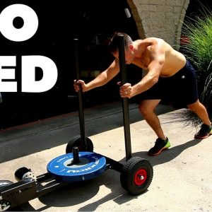 Best Sled for a Home Gym? - Armored Fitness XPO Trainer Sled Review!