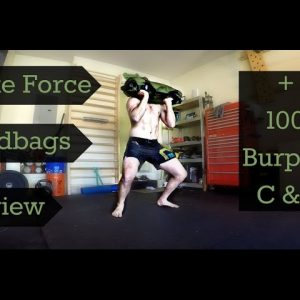 Brute Force Sandbags Review + 100 Burpee C&J's