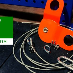 DIY   Gym Cable Pulley Setup