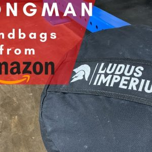 Amazon Gym Equipment | Ludus Imperium Strongman Sandbag | Initial Impression | Strongman Garage Gym