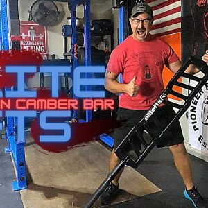 Review | Elite FTS American Cambered Grip Bar |  Strongman Gym Equipment Review