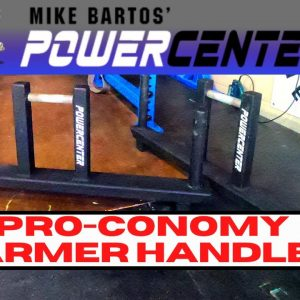 MB Power Center ProConomy Farmer Handles | Quality at Economy price | Strongman Gym Equipment Review
