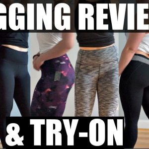Legging Review & Try On | Forever 21, BlueBodyBrazil, Baleaf & Old Navy Leggings
