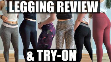 Legging Review & Try On | Forever 21, BlueBodyBrazil, Baleaf & Old Navy Leggings