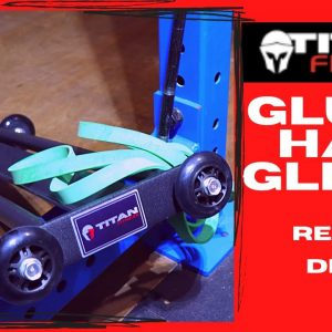 Titan Fitness Glute-Ham Glider | Demo and Review | Quality on a Budget | Strongman Garage Gym Review