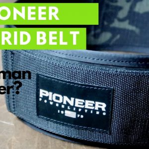 Pioneer Hybrid Lifting Belt | Best Belt for Strongman | Strongman Gym Equipment Review