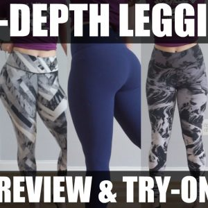 In-depth Legging Review | Lululemon, Gymshark, & Nike Legging Try On