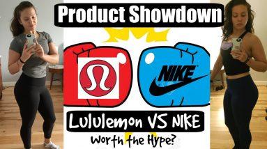 Lululemon Vs. Nike Leggings   High Rise Leggings Review   Worth The Hype?