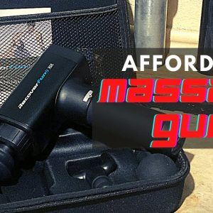 Recover Fun Plus | Affordable Massage Gun | In-Depth Review | Strongman Garage Gym Review