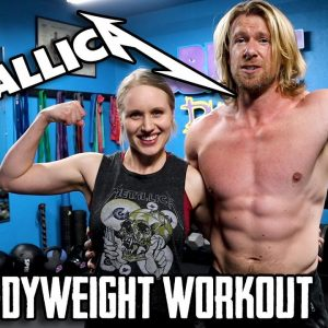 Metallica Workout | 20 Minute at Home HIIT Bodyweight Workout