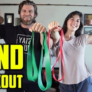 MOBILITY BAND WORKOUT (Full Body Home Workout)
