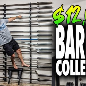 My Garage Gym BARBELL Collection!