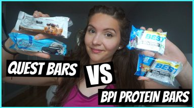 NEW BPI BEST PROTEIN BAR VS QUEST BARS   Honest Protein Bar Review