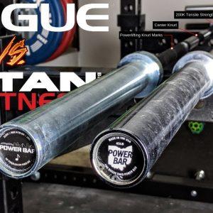 New TITAN Power Bar vs. ROGUE Ohio Power Bar Showdown