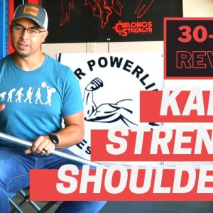 Kabuki Strength ShouldeRok | 30-Day Review | Shoulder Mobility Tool | Strongman Gym Equipment Review