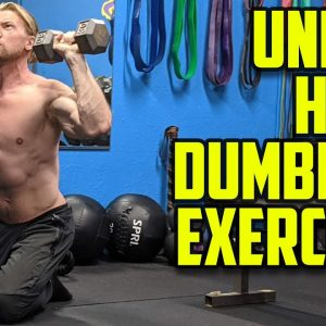 Try these Home Dumbbell Workout Exercise Variations | Buff Dudes Dumbbell Workout Plan Phase 2 Day 3
