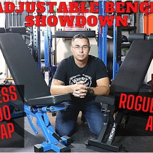 Adjustable Bench Comparison | Rep AB5000 Zero Gap vs. Rogue AB-3 | Garage Gym Equipment Reviews