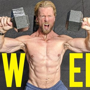 POWER WORKOUT! | Superhero Plan Stage 4, Day 3