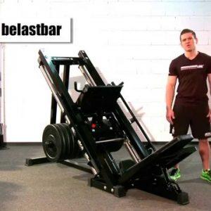 Prensa Hack Squat para piernas Barbarian-line Corpomachine