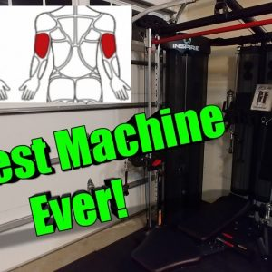 Best Garage Gym Machine Ever - Inspire Fitness ft2 Home Gym Chest Tricep Workout functional trainer