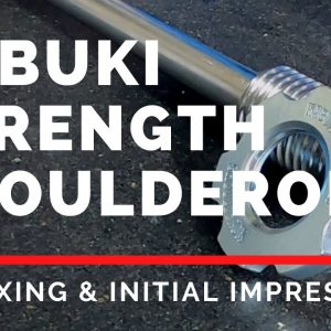 Kabuki Strength ShoulderRok V3 | Unboxing and Initial Impression | Strongman Gym Equipment Review