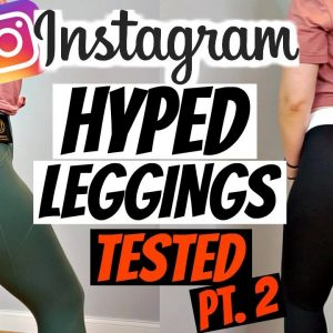 Instagram Hyped Leggings Pt 2 | Til You Collapse, Womens Best, Lululemon Align Try On Haul Review