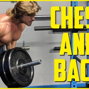 SAVAGE CHEST & BACK SUPERSET WORKOUT | Superhero Plan Stage 3 Day 2