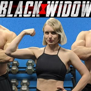 Scarlett Johansson BLACK WIDOW WORKOUT