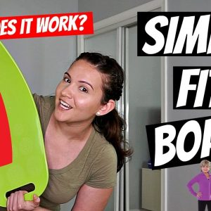 Simply Fit Board As Seen On TV | Does It Really Work? Fitness Test Friday