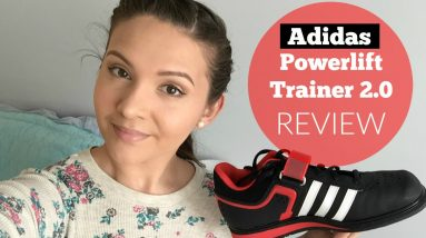 Squat Shoe Review   Adidas Powerlift Trainer 2.0 Review & Demo