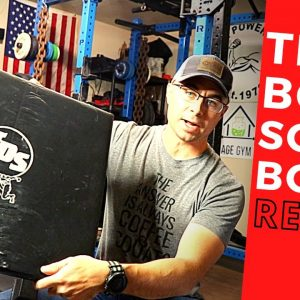 TDS Box Squat Box | Affordable Gym Equipment | Strongman Gym Review