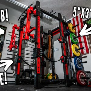 The Most OVERBUILT Squat Rack In Existence...