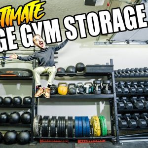 The Ultimate Garage Gym Storage Rack!