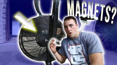 This AirBike has Magnetic Resistance?!