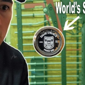 Unboxing The Worlds STRONGEST Barbell!
