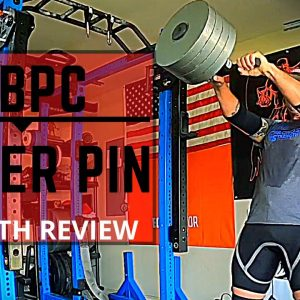 MB Power Center Power Pin | Overbuilt | Multi-use Loading Pin | Strongman Gym Equipment Review