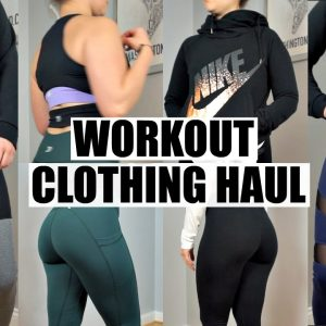 Workout Clothes Haul & Try On | Nike, Pumpchasers, Ledbetter, Champion Review