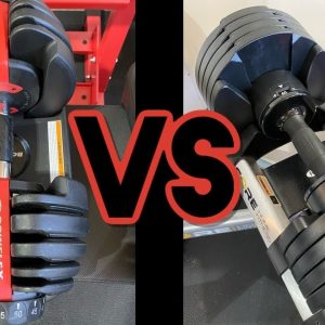 CORE HOME FITNESS VS BOWFLEX 552 SELECTTECH - Best Adjustable Dumbbells set for Home Gym Comparison