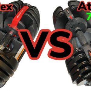 ATIVAFIT VS BOWFLEX 552 SELECTTECH - Best Adjustable Dumbbells set for Home Gym Comparison